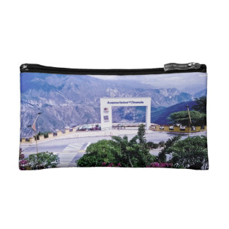 View of the national Park of Chicamocha. Cosmetic Bag