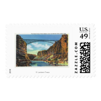 View of the Navajo Bridge at Lee's Ferry Stamp