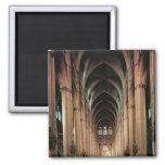 View of the nave, 1225-50 refrigerator magnets