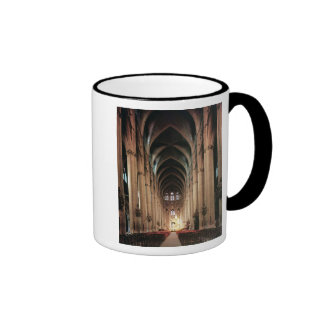 View of the nave, 1225-50 ringer coffee mug
