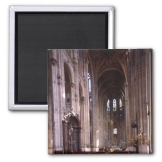 View of the nave, 1578-1637 2 inch square magnet