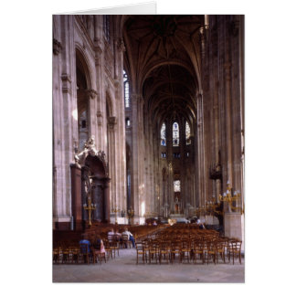 View of the nave, 1578-1637 card