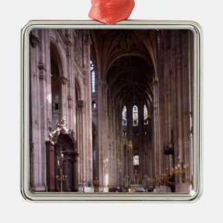 View of the nave, 1578-1637 metal ornament