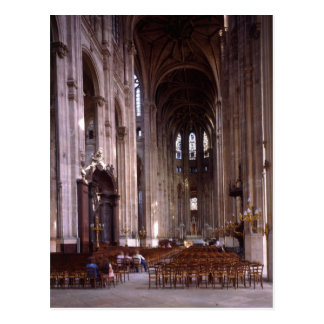 View of the nave, 1578-1637 postcard