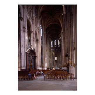 View of the nave, 1578-1637 poster
