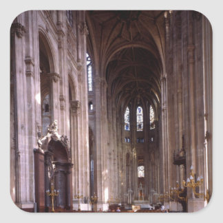 View of the nave, 1578-1637 square sticker