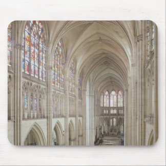View of the nave and the choir mouse pad