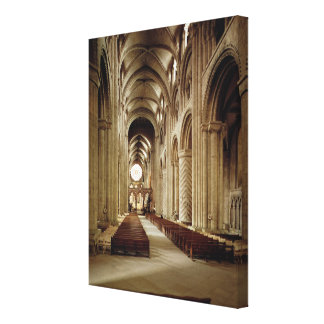View of the nave, built 1093-1289 canvas print