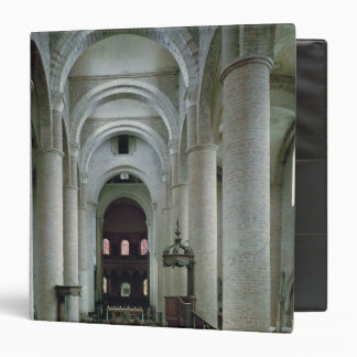 View of the nave, looking towards the altar binders