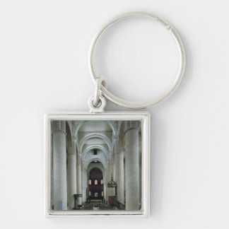 View of the nave, looking towards the altar keychain