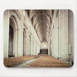 View of the nave, remodelled by William of Mouse Pad