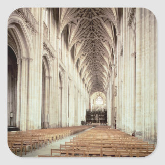 View of the nave, remodelled by William of Square Sticker