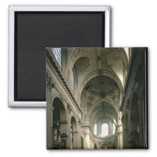 View of the nave towards the choir, built 2 inch square magnet