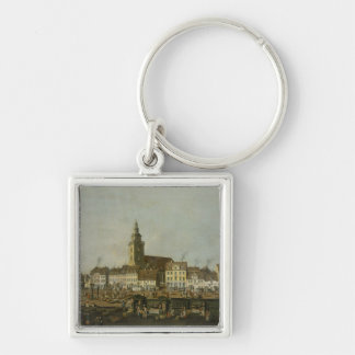 View of the Neue Markt with St. Mary's Keychain