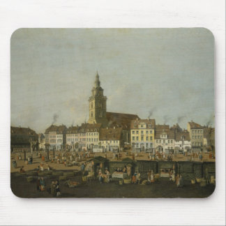View of the Neue Markt with St. Mary's Mouse Pad