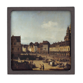 View of the New Market Place in Dresden Premium Jewelry Box