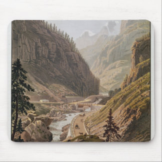 View of the New Simplon Pass, 1811 Mouse Pad
