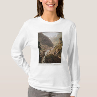 View of the New Simplon Pass, 1811 T-Shirt