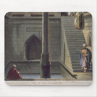 View of the Nilometer, plate 2 from 'Views of Egyp Mouse Pad