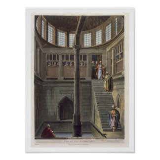 View of the Nilometer, plate 2 from 'Views of Egyp Poster