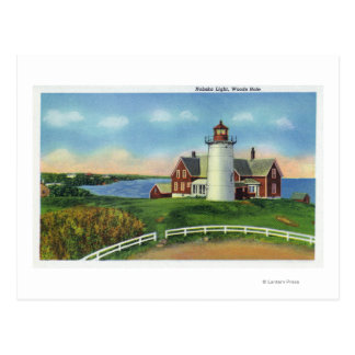 View of the Nobska Lighthouse Woods Hole Post Card