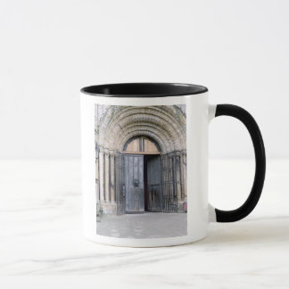View of the North Door of Durham Cathedral Mug