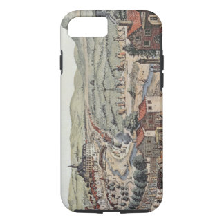 View of the north of Vienna with the Schlos Hernal iPhone 8/7 Case