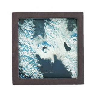 View of the North Pole Keepsake Box