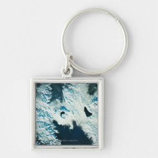 View of the North Pole Keychains