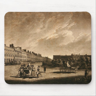 View of the north side of Grosvenor Square, 1789 Mouse Pad