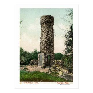 View of the Norumbega Tower Postcard