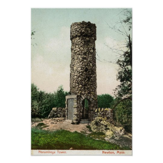View of the Norumbega Tower Poster