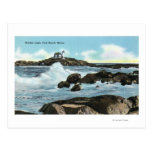 View of the Nubble Lighthouse Post Card