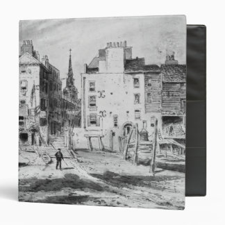 View of the Old Hungerford Stairs, c.1815 Vinyl Binders