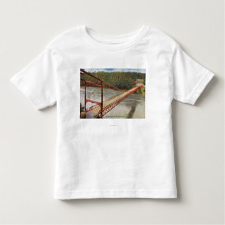 View of the Old Suspension Bridge Toddler T-shirt