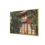 View of the Old Wells-Fargo Office (1855) Canvas Print