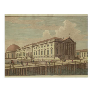 View of the Opera House in Berlin, 1773 Postcard