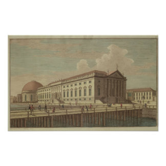 View of the Opera House in Berlin, 1773 Poster