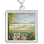 View of the Orangerie at Versailles, after 1697 Pendant