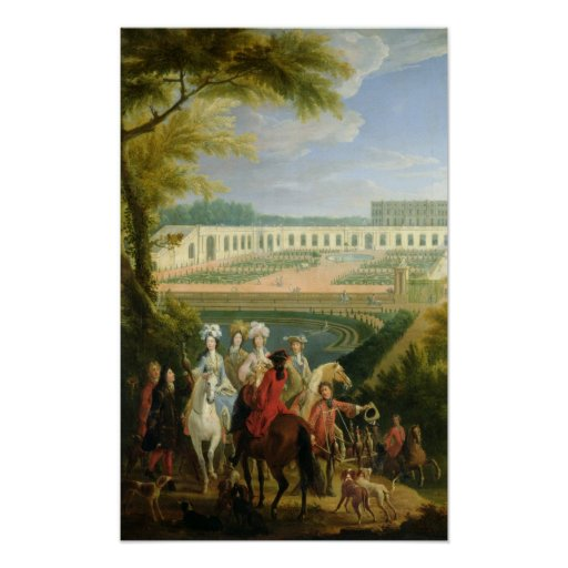 View of the Orangerie at Versailles, after 1697 Print