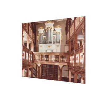 View of the Organ Canvas Print