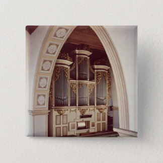 View of the Organ in the church at Rotha Pinback Button