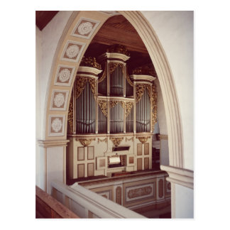 View of the Organ in the church at Rotha Postcard