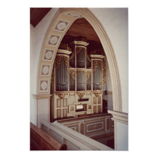 View of the Organ in the church at Rotha Poster