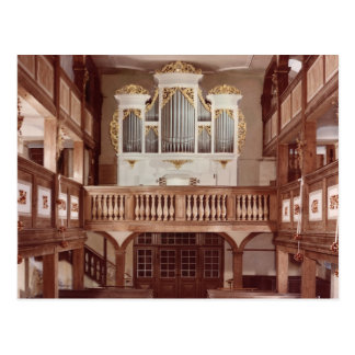 View of the Organ Postcard