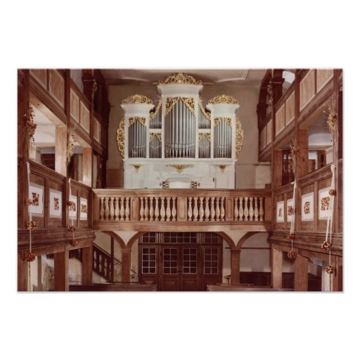 View of the Organ Print
