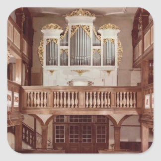 View of the Organ Square Sticker