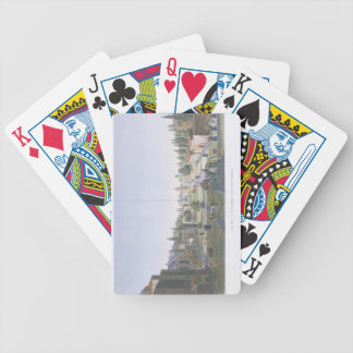 View of the Outer Courtyard of the Seraglio, Topka Bicycle Playing Cards
