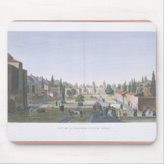 View of the Outer Courtyard of the Seraglio, Topka Mouse Pad