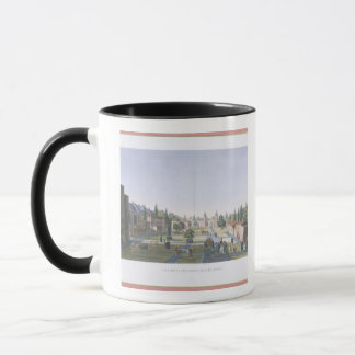 View of the Outer Courtyard of the Seraglio, Topka Mug